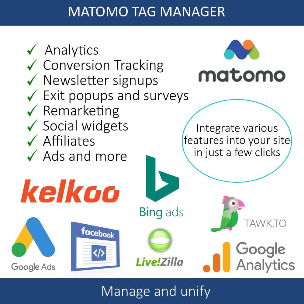 module - Analytics & Statistics - Matomo tag manager - 6