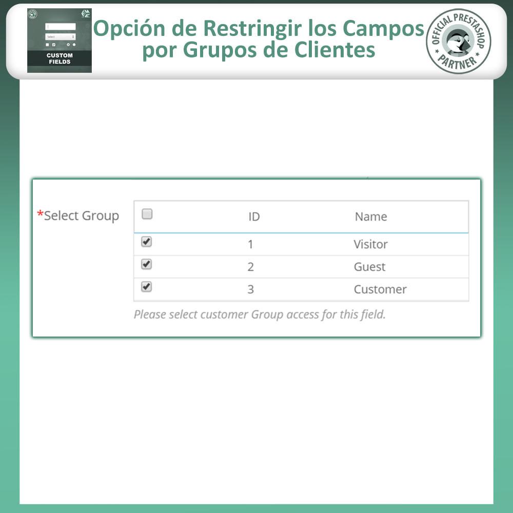 module - Inscripción y Proceso del pedido - Custom Checkout Fields - Campo de Pedido Personalizado - 13