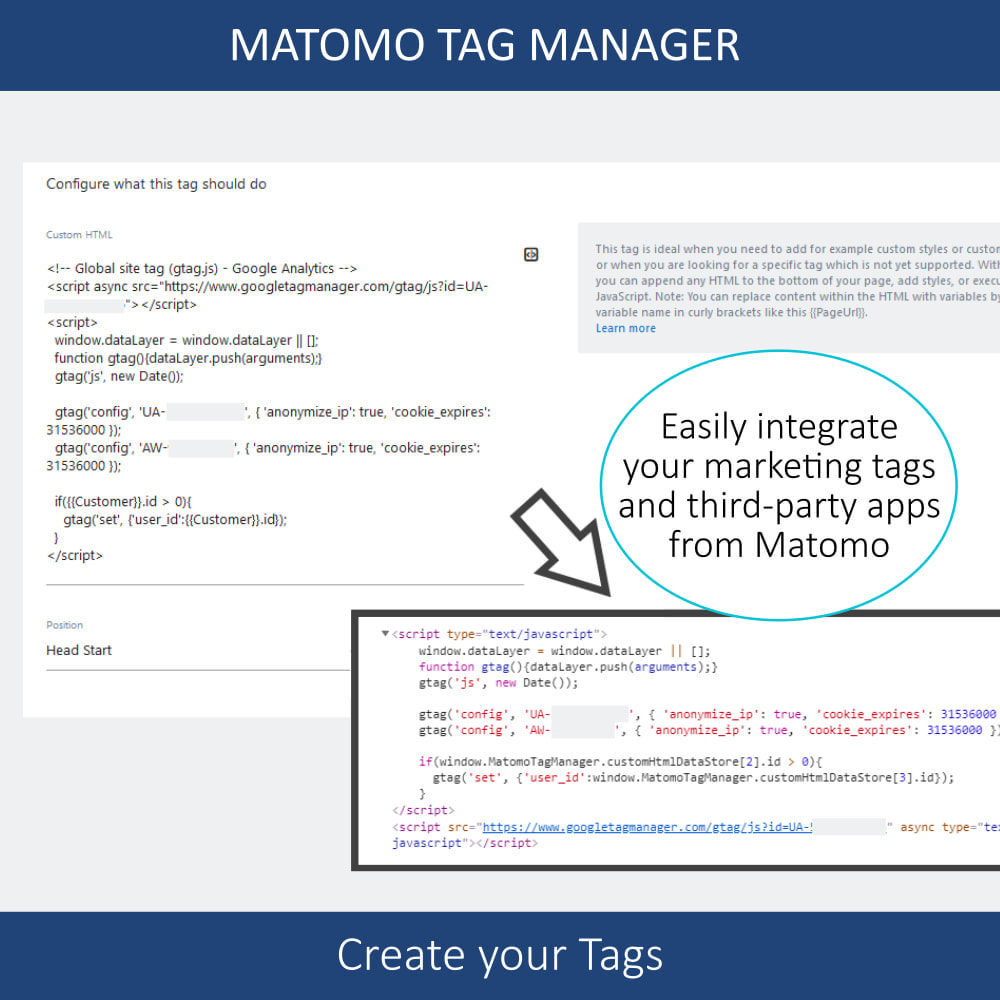 module - Администрация - Matomo tag manager + Cookie manager & banner (GDPR) - 10