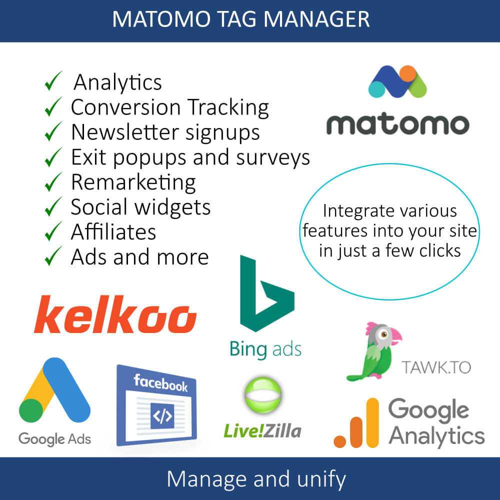 module - Администрация - Matomo tag manager + Cookie manager & banner (GDPR) - 11