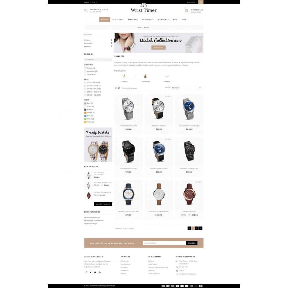 theme - Joalheria & Acessórios - Wrist Timer - Watch Store - 3