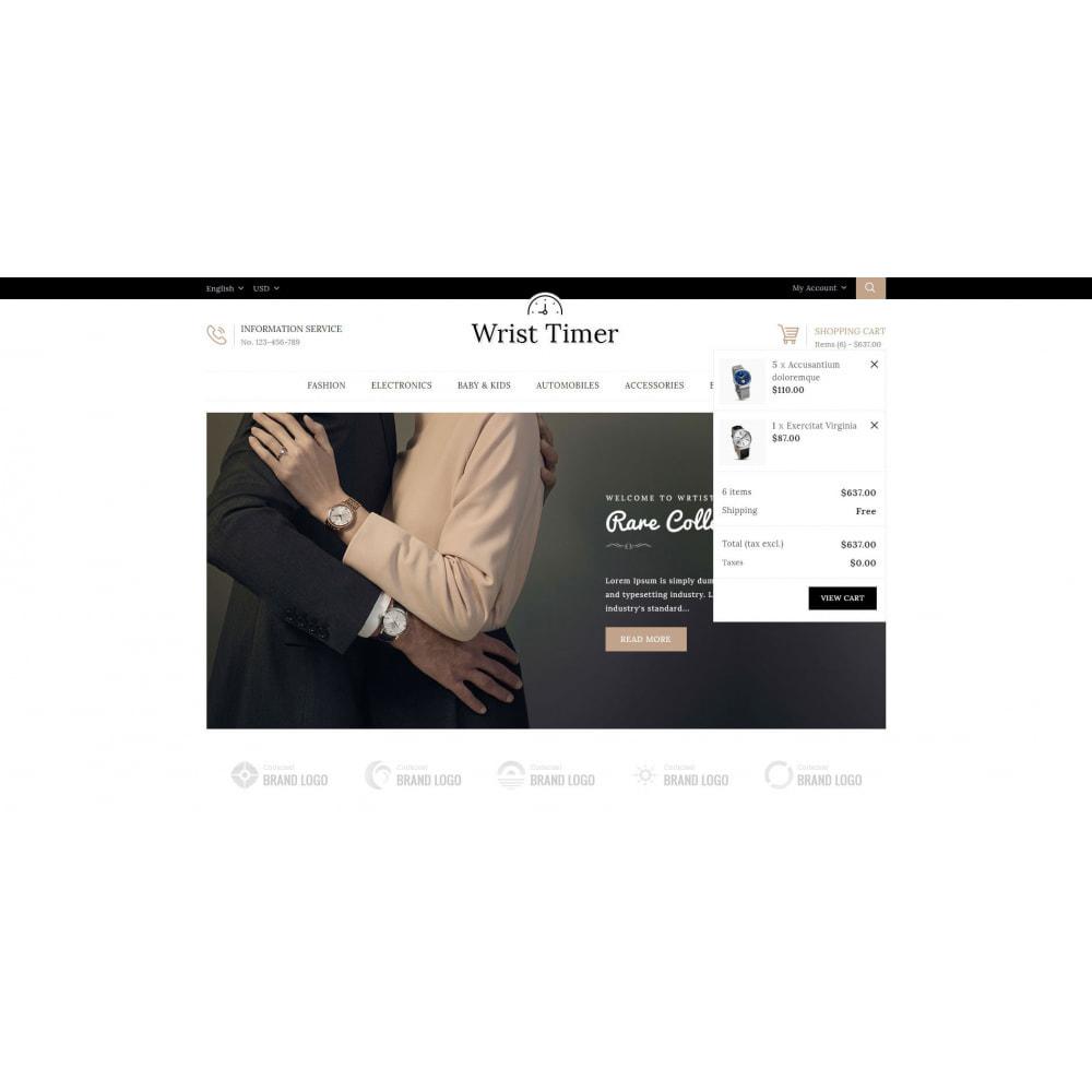 theme - Joalheria & Acessórios - Wrist Timer - Watch Store - 8