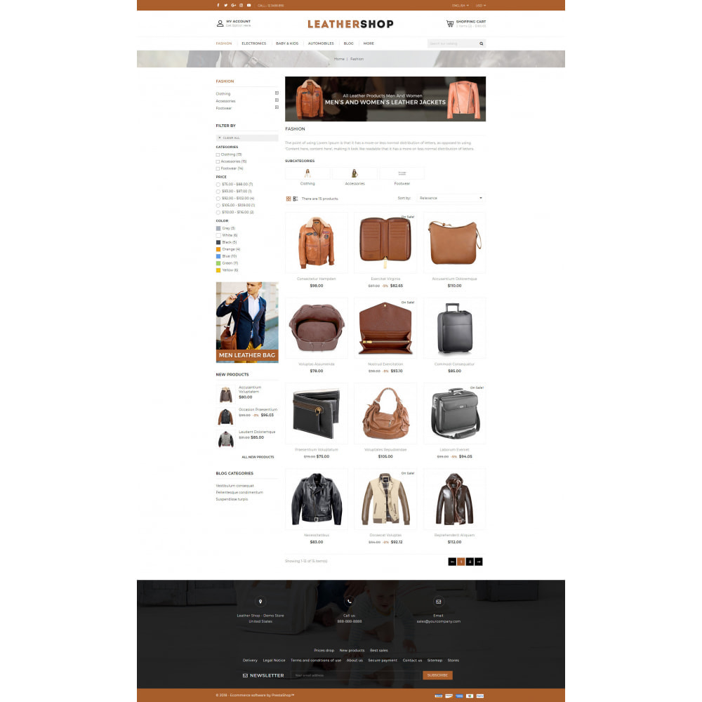 theme - Jewelry & Accessories - Leather Store - 3