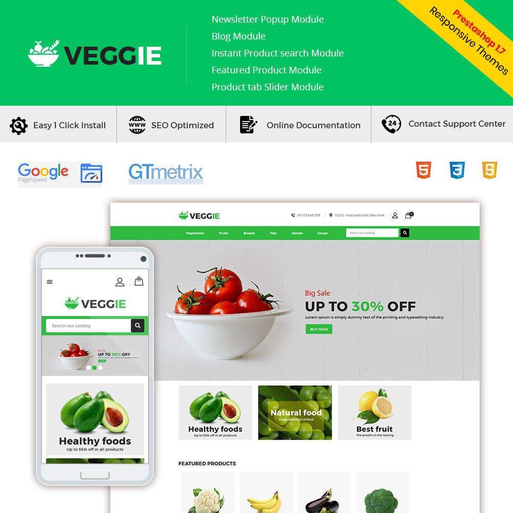 theme - Продовольствие и рестораны - Vegitables Food - Фруктовый магазин - 1
