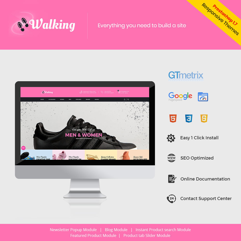 theme - Fashion & Shoes - Shoes Slipper - Footwear Fashion Store - 1