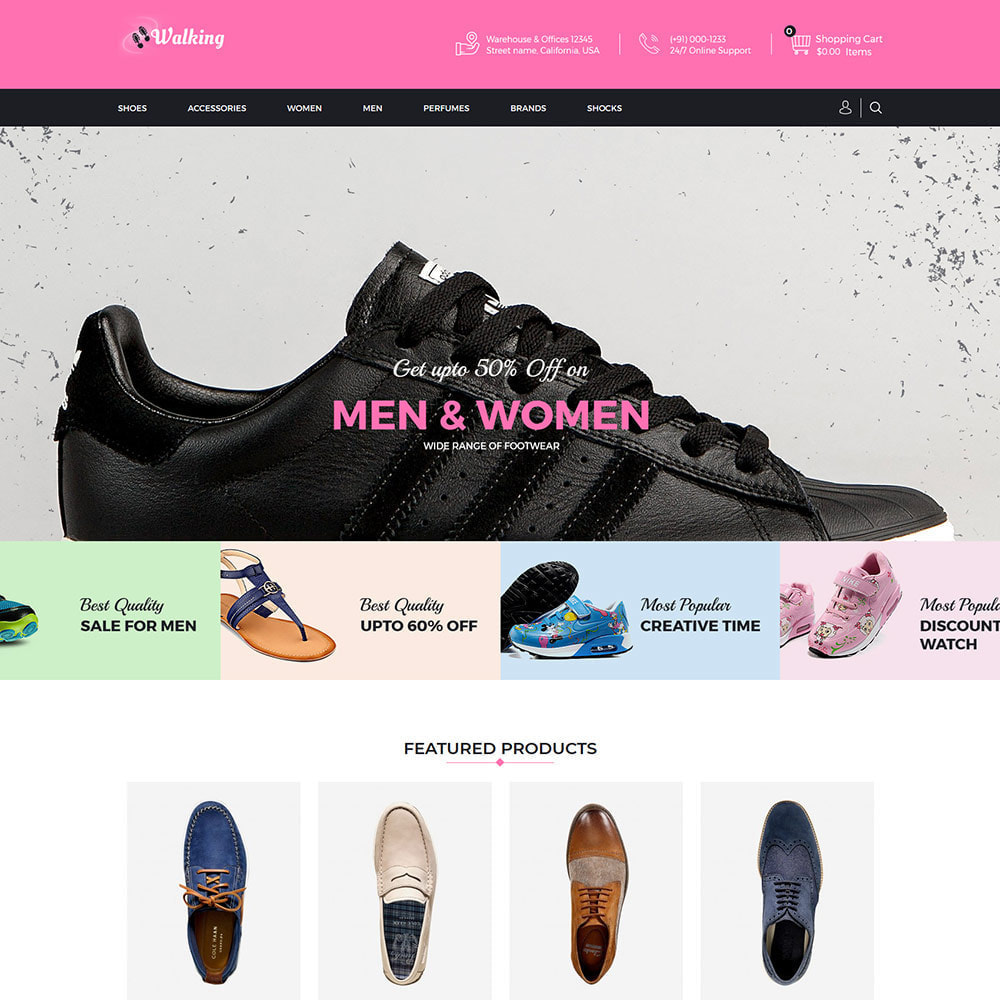 theme - Fashion & Shoes - Shoes Slipper - Footwear Fashion Store - 2