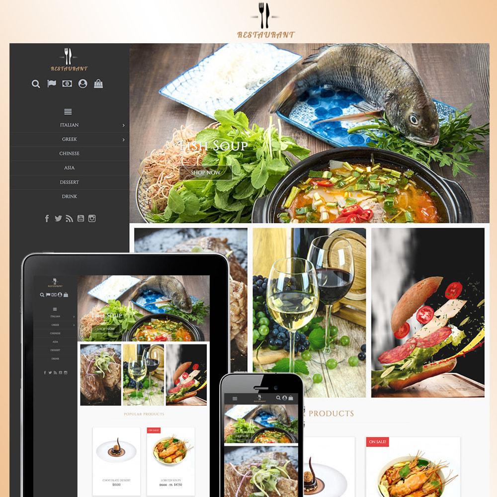 theme - Продовольствие и рестораны - Universal Restaurant - 1