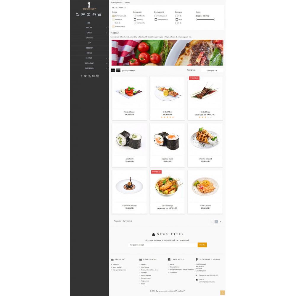 theme - Продовольствие и рестораны - Universal Restaurant - 3