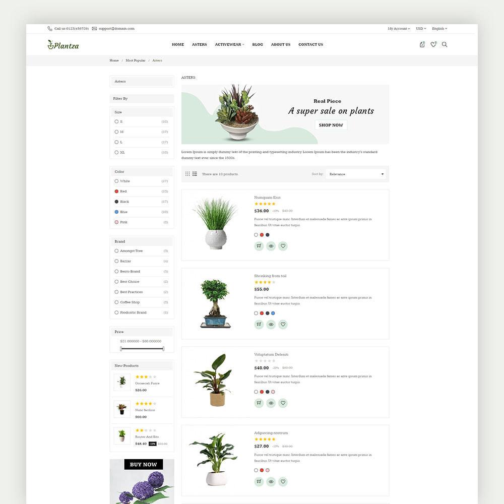 theme - Dom & Ogród - Plantza Plant Store - 6