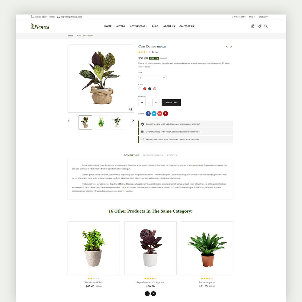 theme - Dom & Ogród - Plantza Plant Store - 7