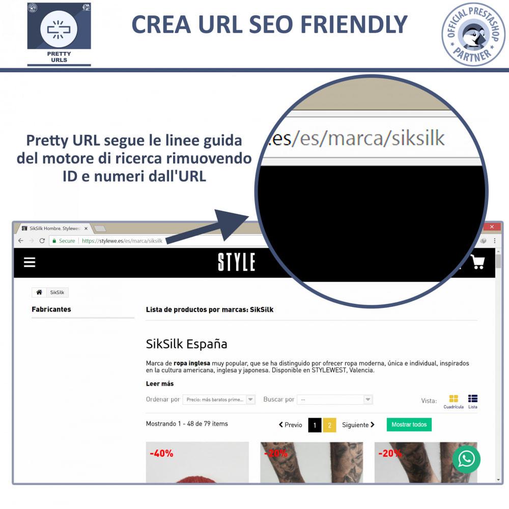 module - URL & Redirect - Pretty URL - Rimuovere ID e Numeri dalle URL - 3