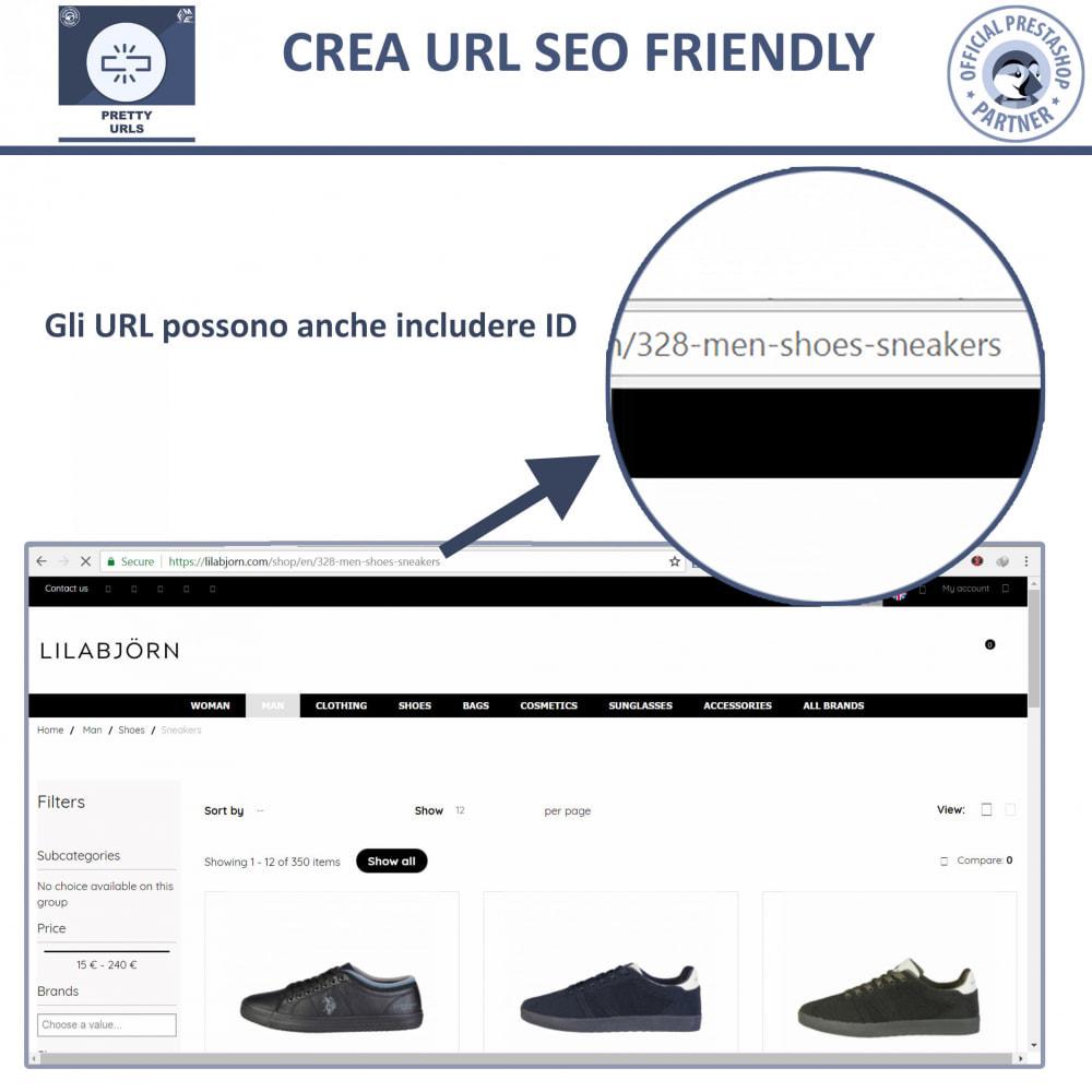 module - URL & Redirect - Pretty URL - Rimuovere ID e Numeri dalle URL - 5