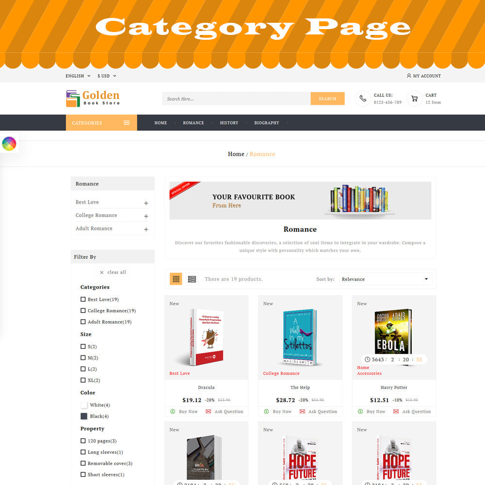 theme - Gifts, Flowers & Celebrations - Golden Book Store - 2