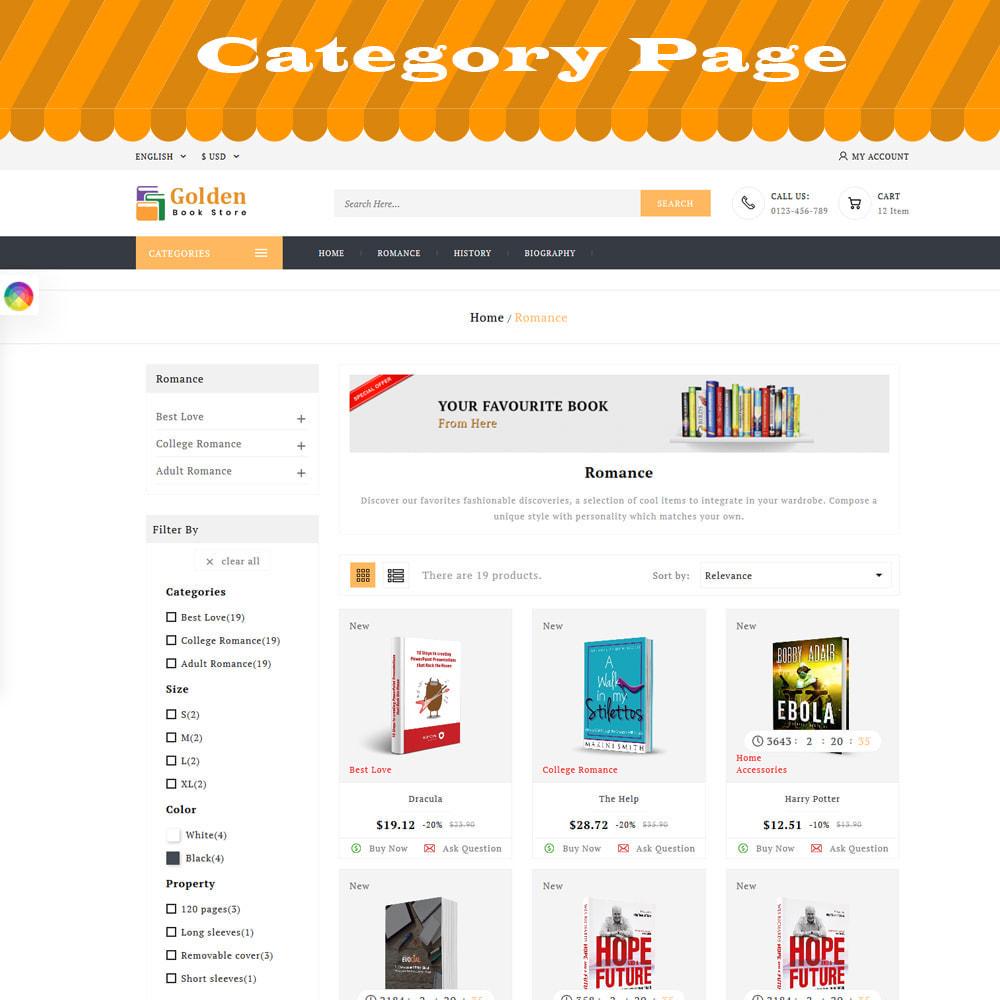 theme - Cadeaux, Fleurs et Fêtes - Golden Book Store - 2