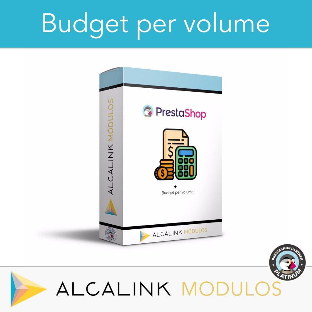 module - Grandezze & Unità di misura - Budget per volume - Acquisto rapido - 1