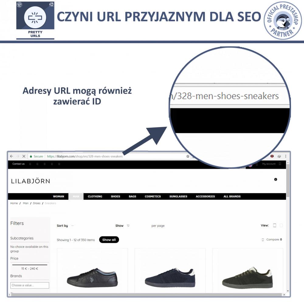 module - URL & Przekierowania - Pretty URL – Usuń ID i Numer z Adresu URL - 4
