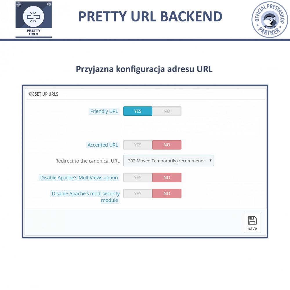 module - URL & Przekierowania - Pretty URL – Usuń ID i Numer z Adresu URL - 6