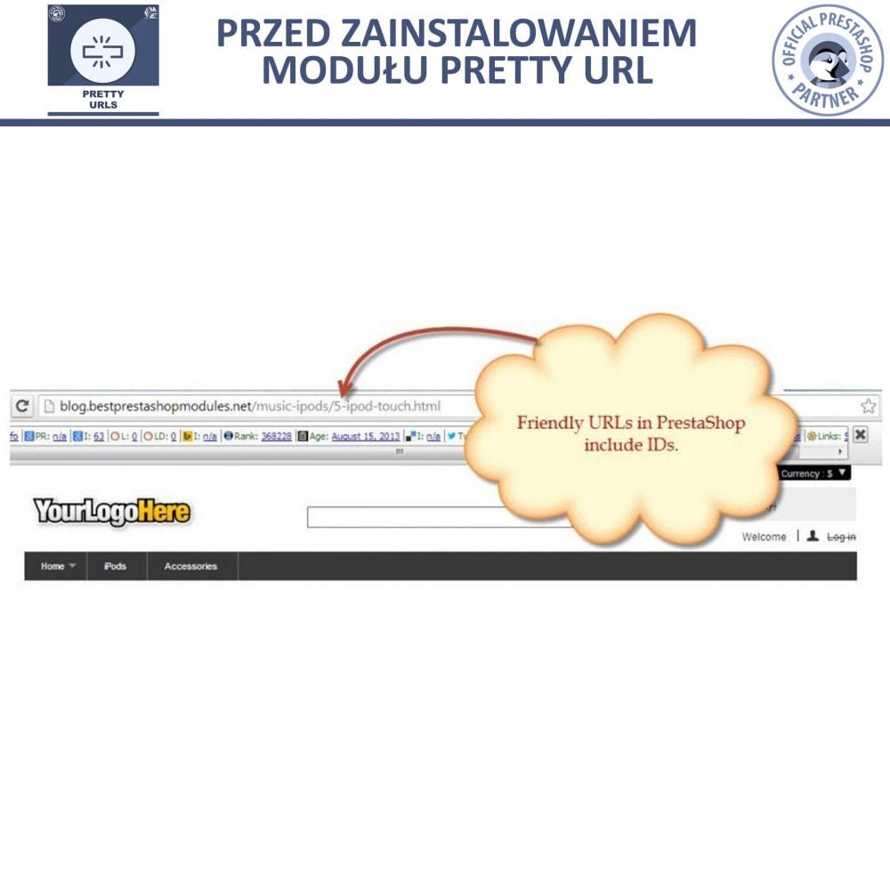 module - URL & Przekierowania - Pretty URL – Usuń ID i Numer z Adresu URL - 11