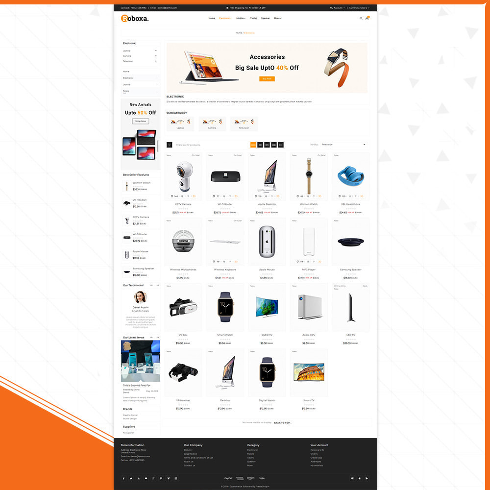 theme - Электроника и компьютеры - Digital Electronics –Roboxa Electro Store - 3