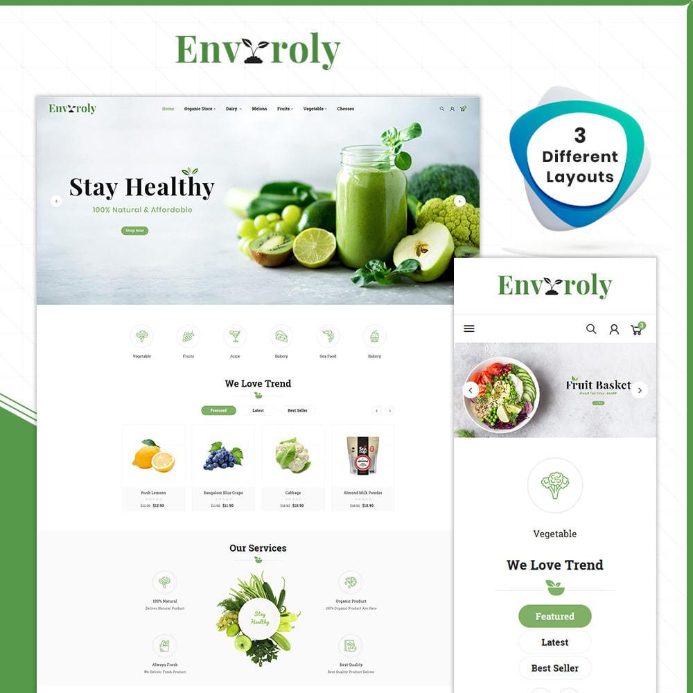 theme - Gesundheit & Schönheit - Envioly Grocery –Organic Store - 1