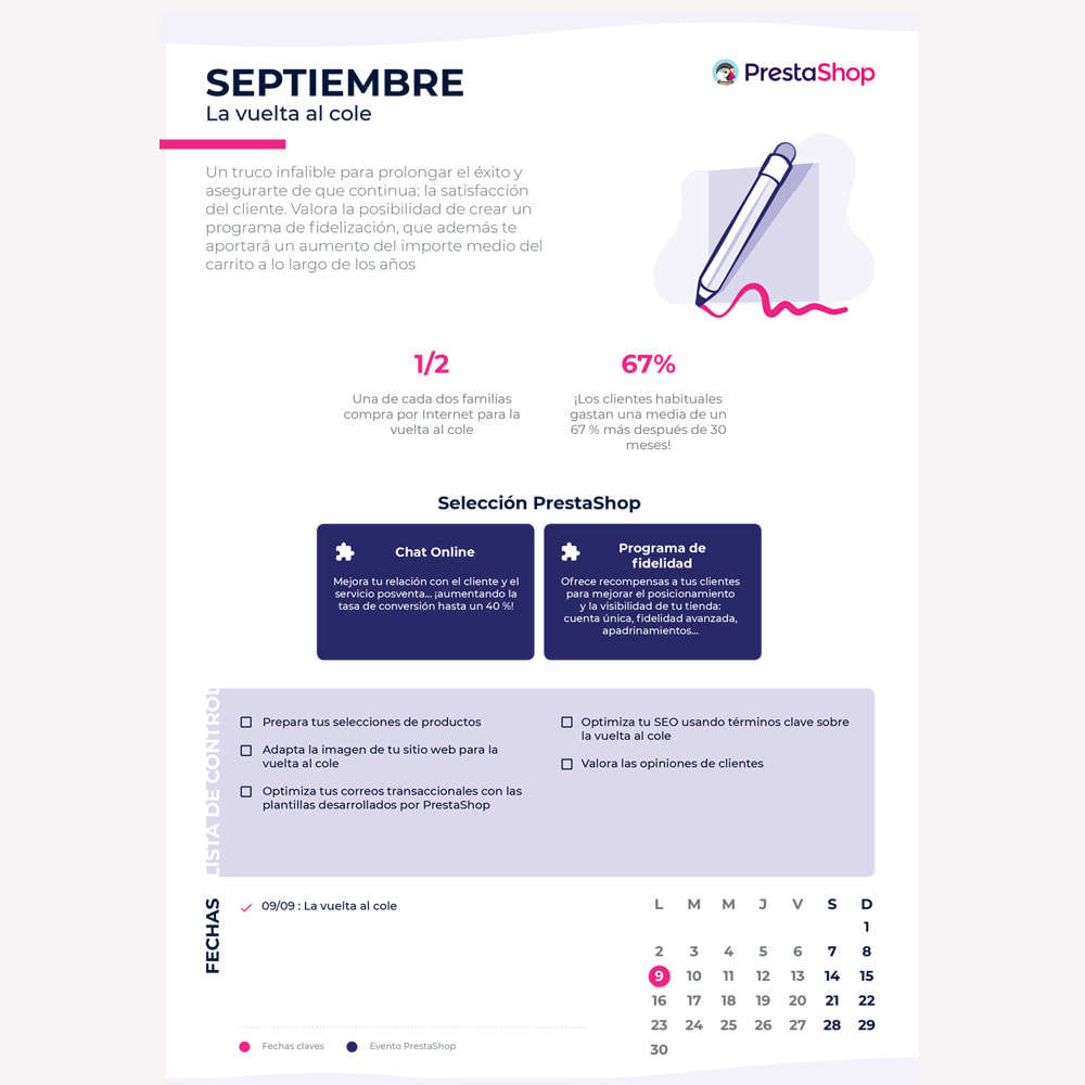 other - Calendario e-Commerce - Calendario de e-commerce 2019 para el último semestre del año - 2