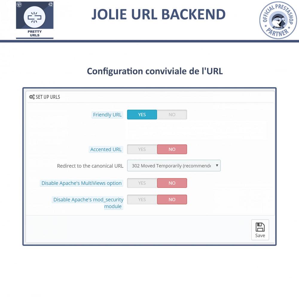 module - URL & Redirections - Pretty URLs  - Supprimez les ID et les numéros de l'URL - 6