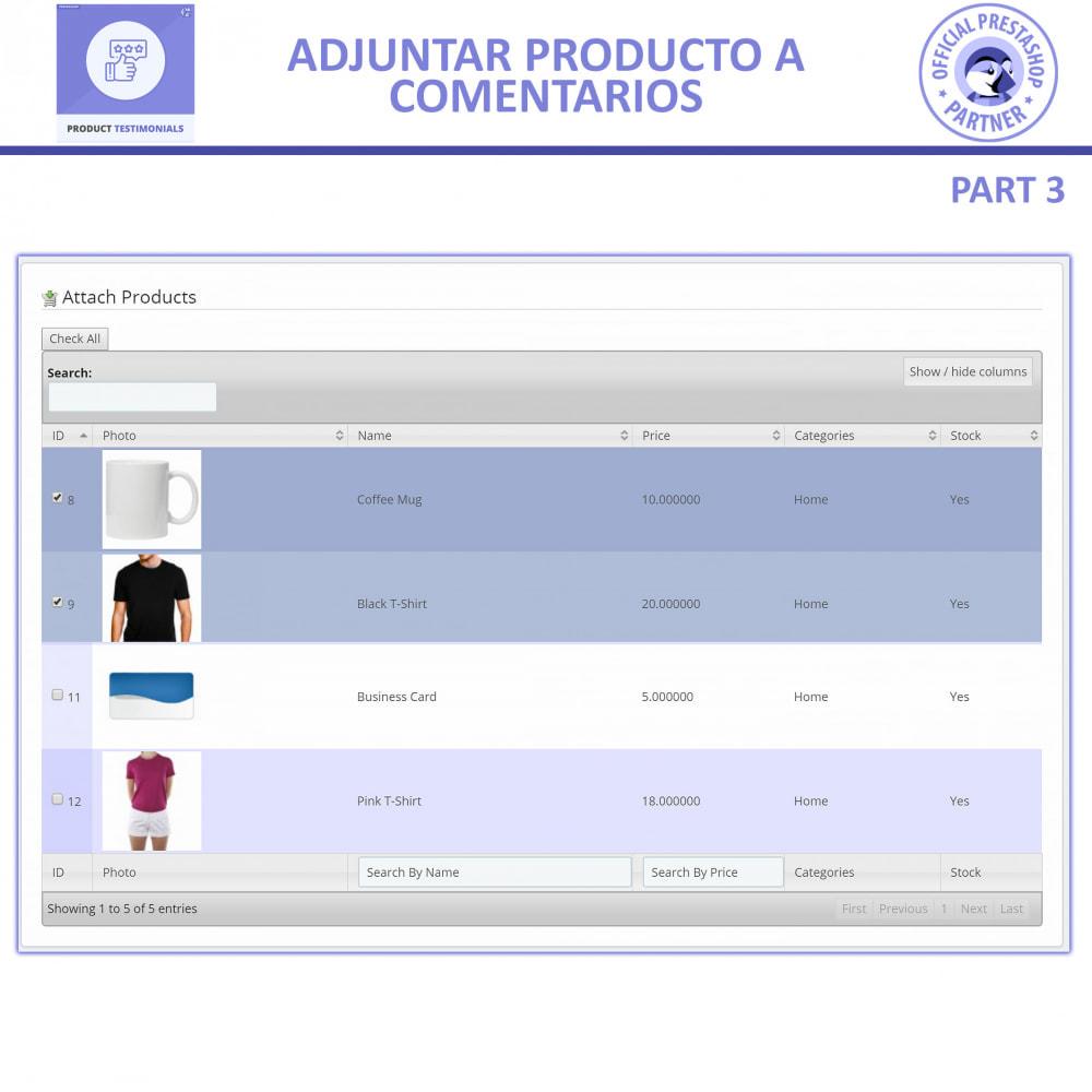 module - Comentarios de clientes - Opiniones Productos + Reseñas de la tienda - 7