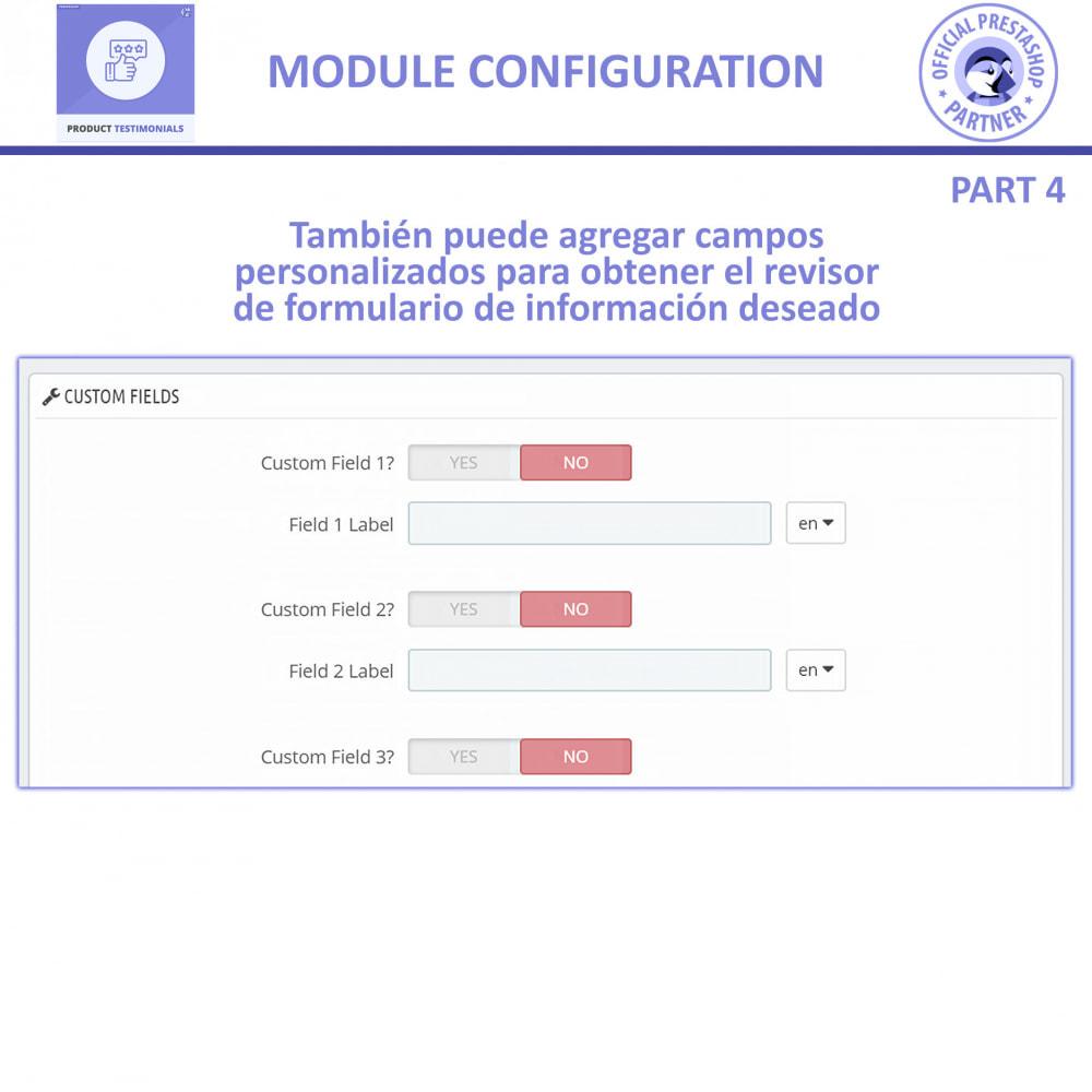module - Comentarios de clientes - Opiniones Productos + Reseñas de la tienda - 11