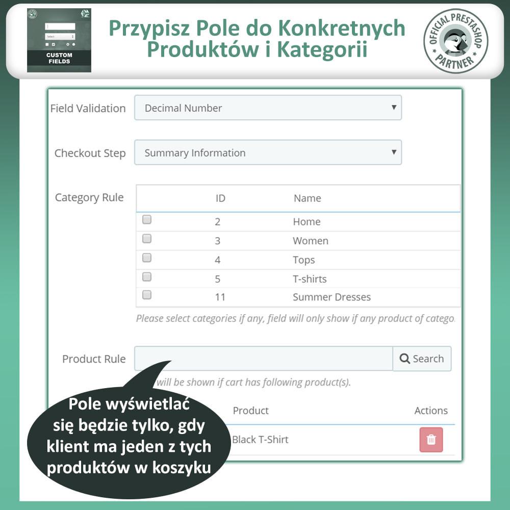 module - Procedury składania zamówień - Dodaj Dodatkowe Pole na Stronie Zamówienia (Checkout) - 11