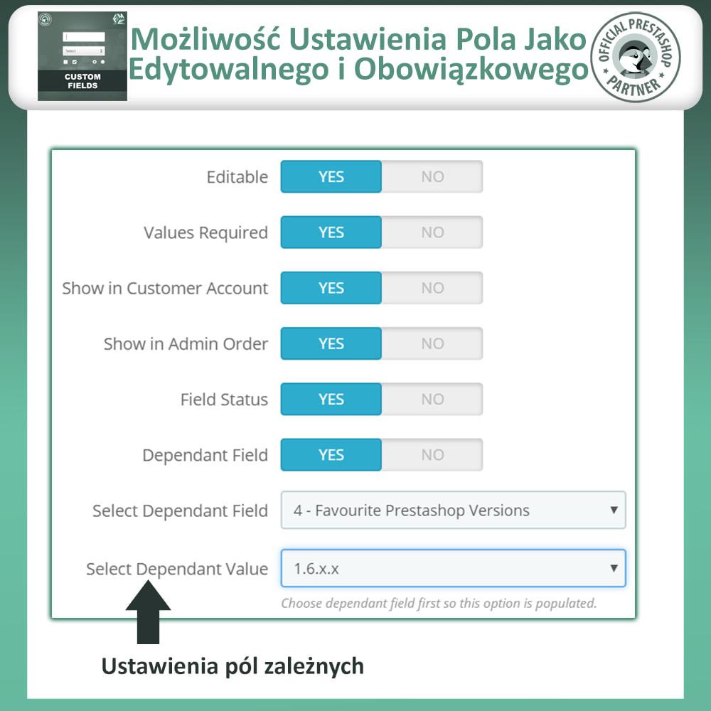 module - Procedury składania zamówień - Dodaj Dodatkowe Pole na Stronie Zamówienia (Checkout) - 12
