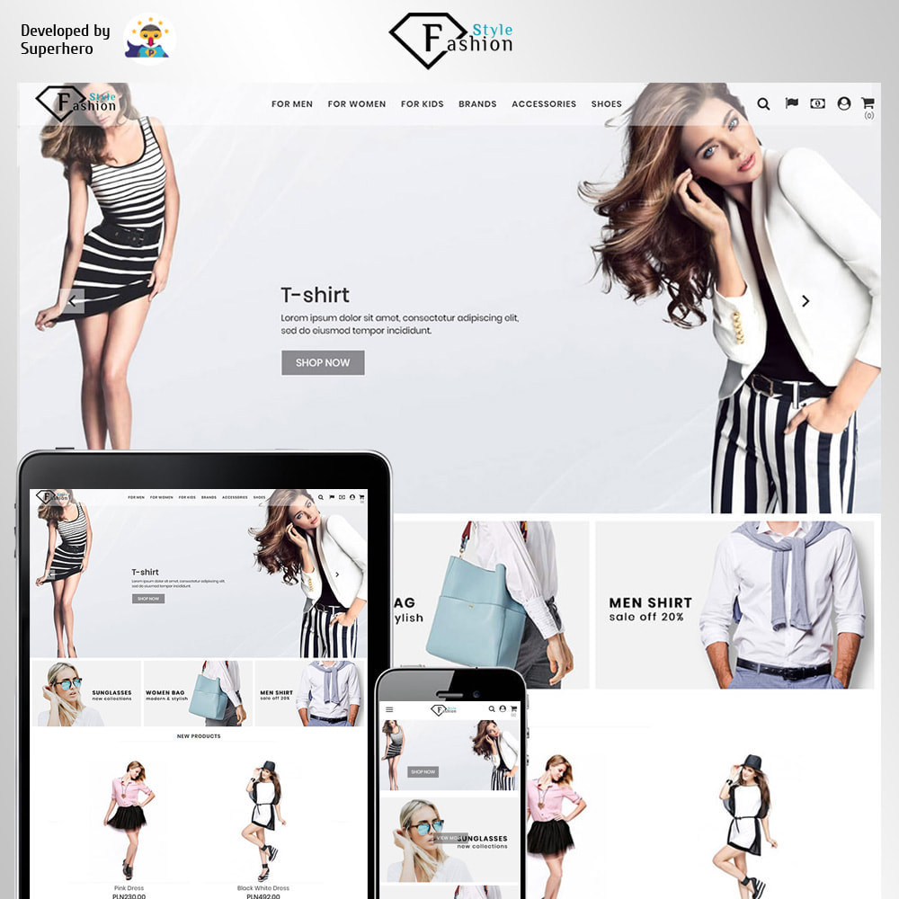 theme - Moda & Calzature - Fashion Style - 1