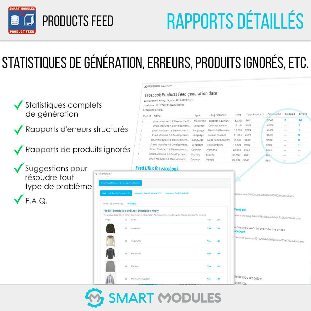 module - Référencement payant (SEA SEM) & Affiliation - Flux de Produits: Ad Dynamiques & Tags & Boutique - 5