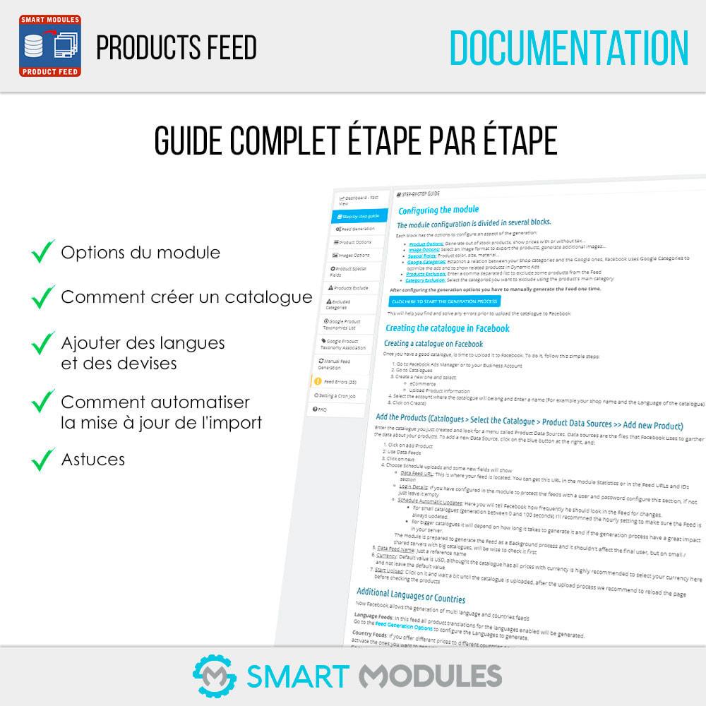 module - Référencement payant (SEA SEM) & Affiliation - Flux de Produits: Ad Dynamiques & Tags & Boutique - 6
