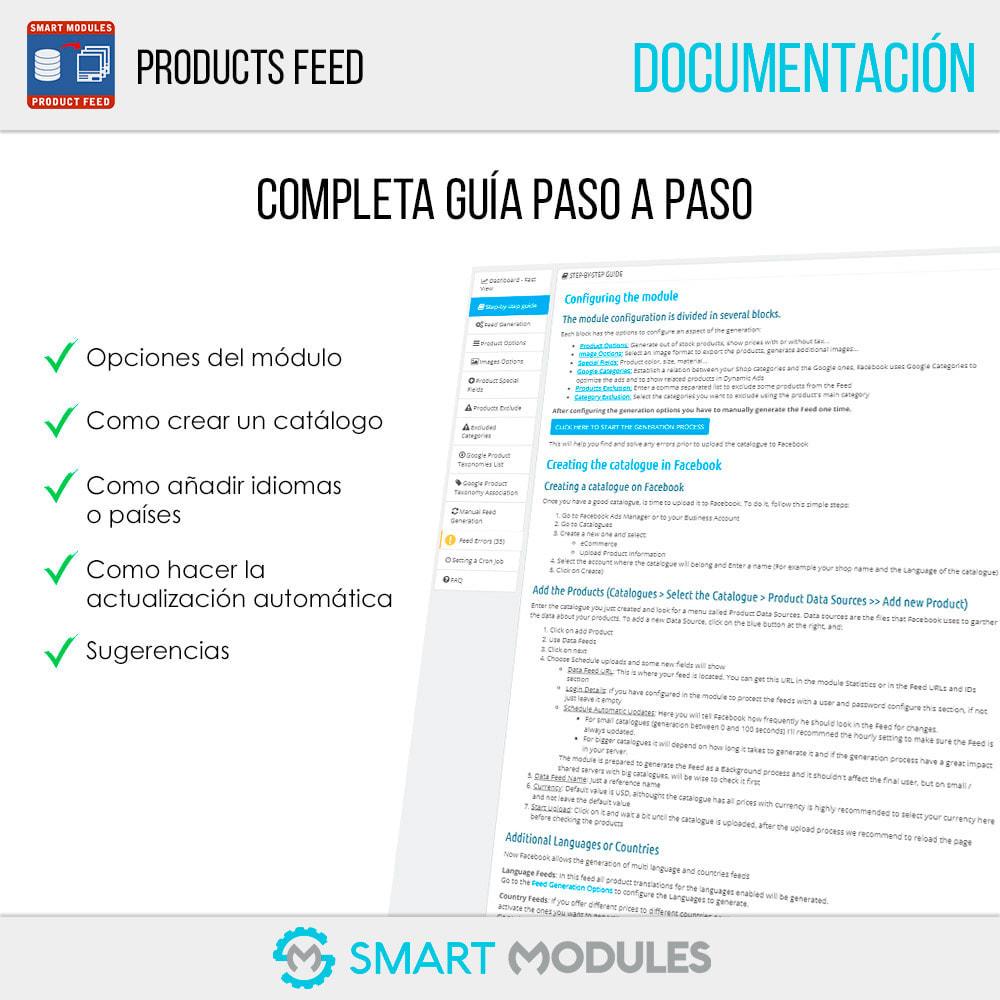 module - SEM SEA - Posicionamiento patrocinado & Afiliación - Feed de Productos: Anuncios Dinámicos & Tags & Tienda - 5
