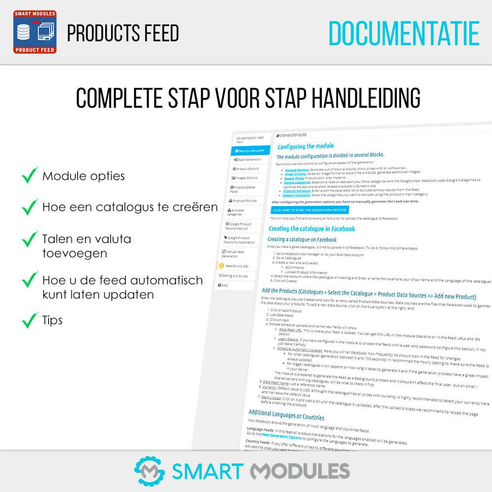 module - Betaalde vermelding & Lidmaatschap - Producten Feed: Dynamische Advertenties & Tag & Shop - 5