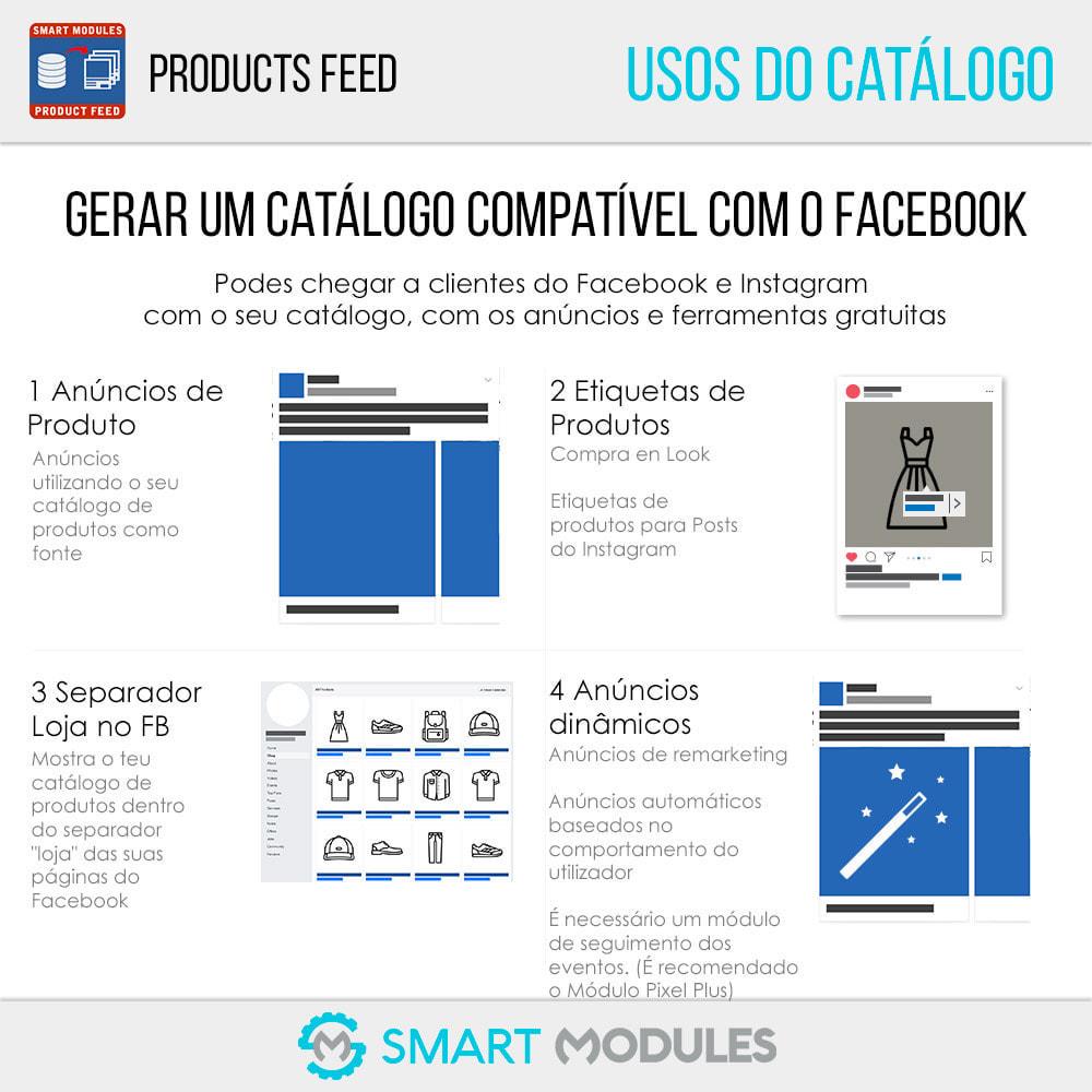 module - SEA SEM pago & Filiação - Feed de Produtos: Anúncios Dinâmicos & Tag & Shop - 2