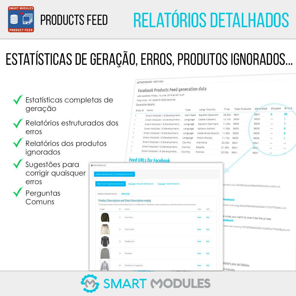 module - SEA SEM pago & Filiação - Feed de Produtos: Anúncios Dinâmicos & Tag & Shop - 6