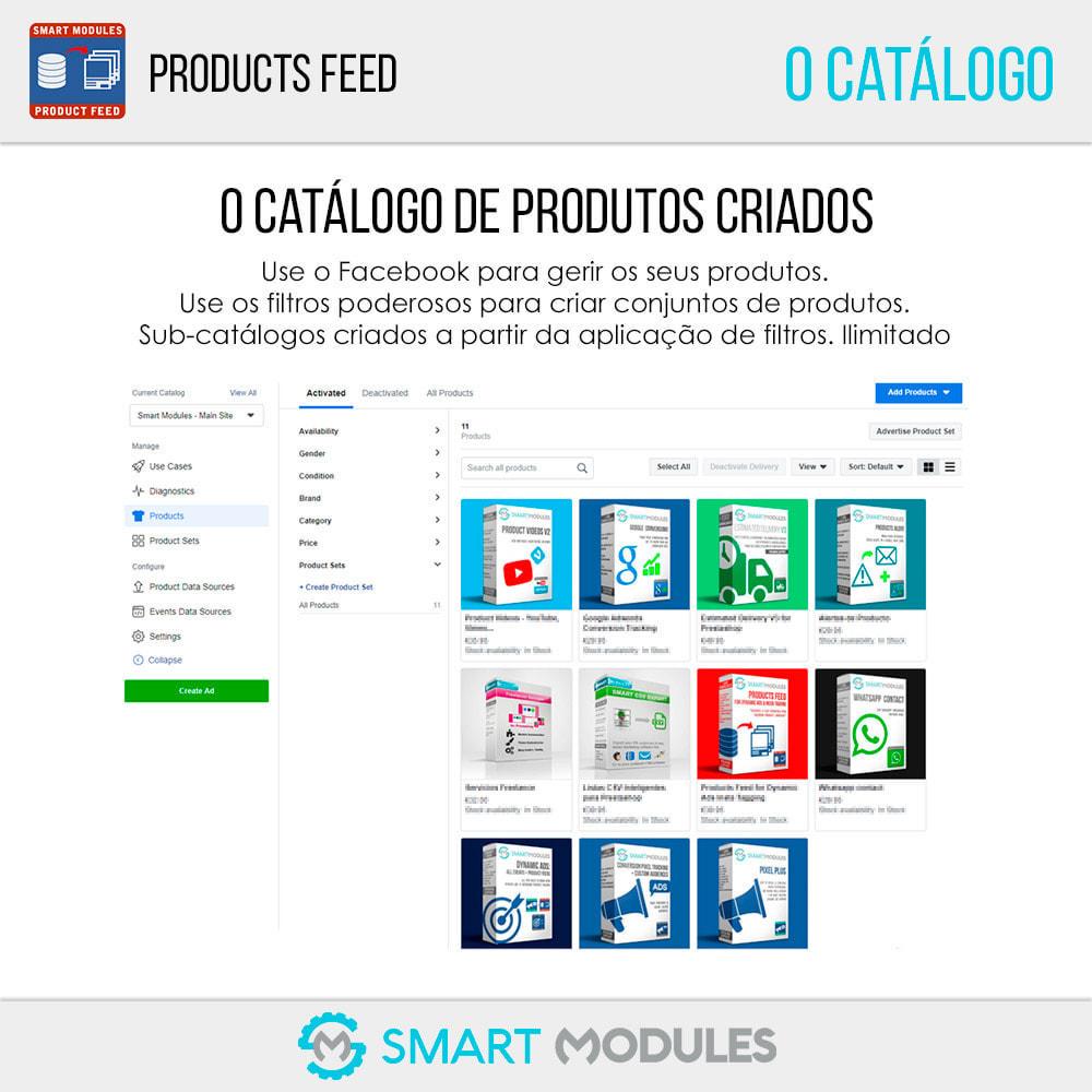 module - SEA SEM pago & Filiação - Feed de Produtos: Anúncios Dinâmicos & Tag & Shop - 7