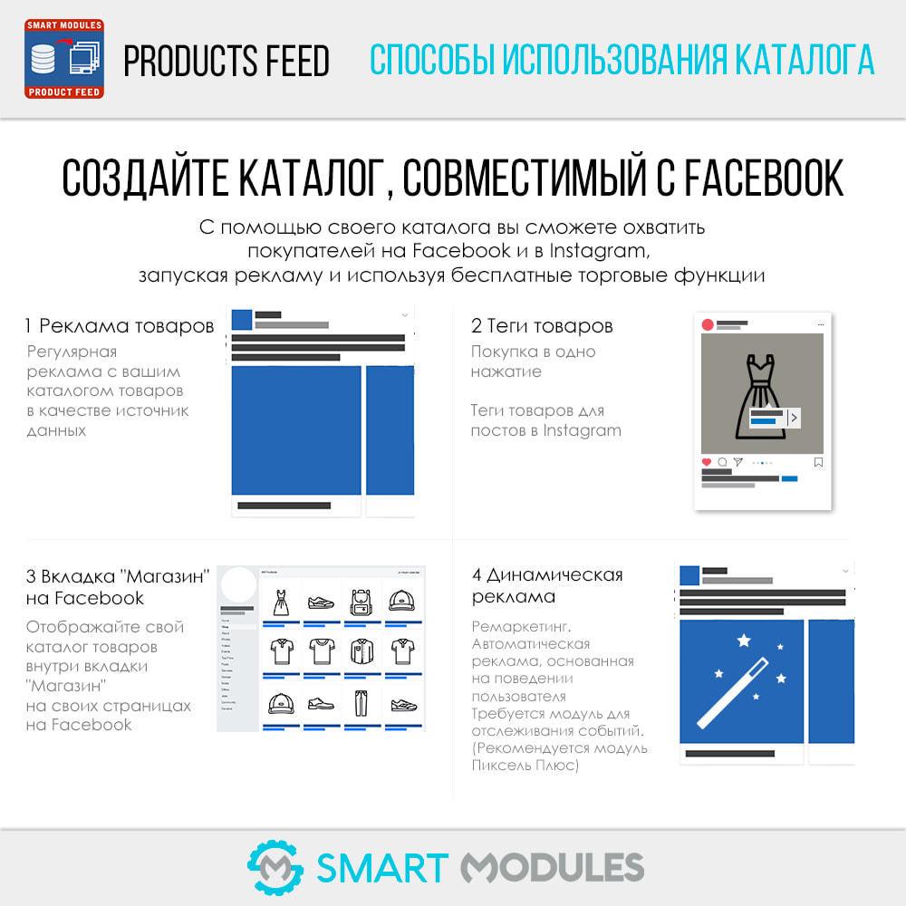 module - Платная поисковая оптимизация - Фиды продуктов: динамическая реклама и маркировка - 2