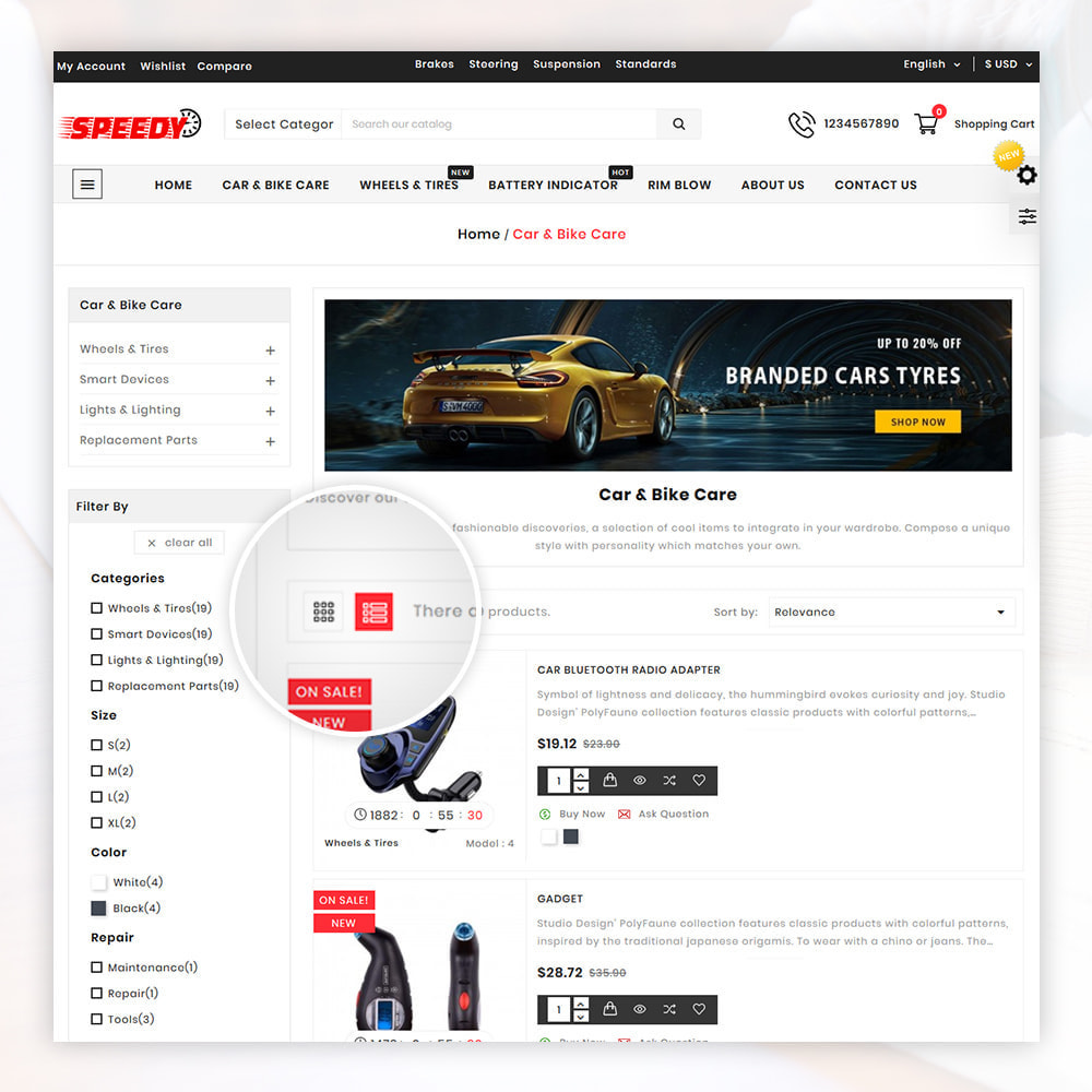 theme - Авто и Мото - AutoKart AutoPart Store - 4