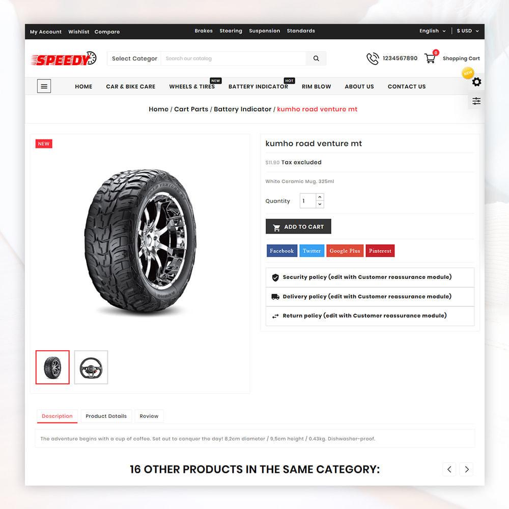 theme - Авто и Мото - AutoKart AutoPart Store - 5