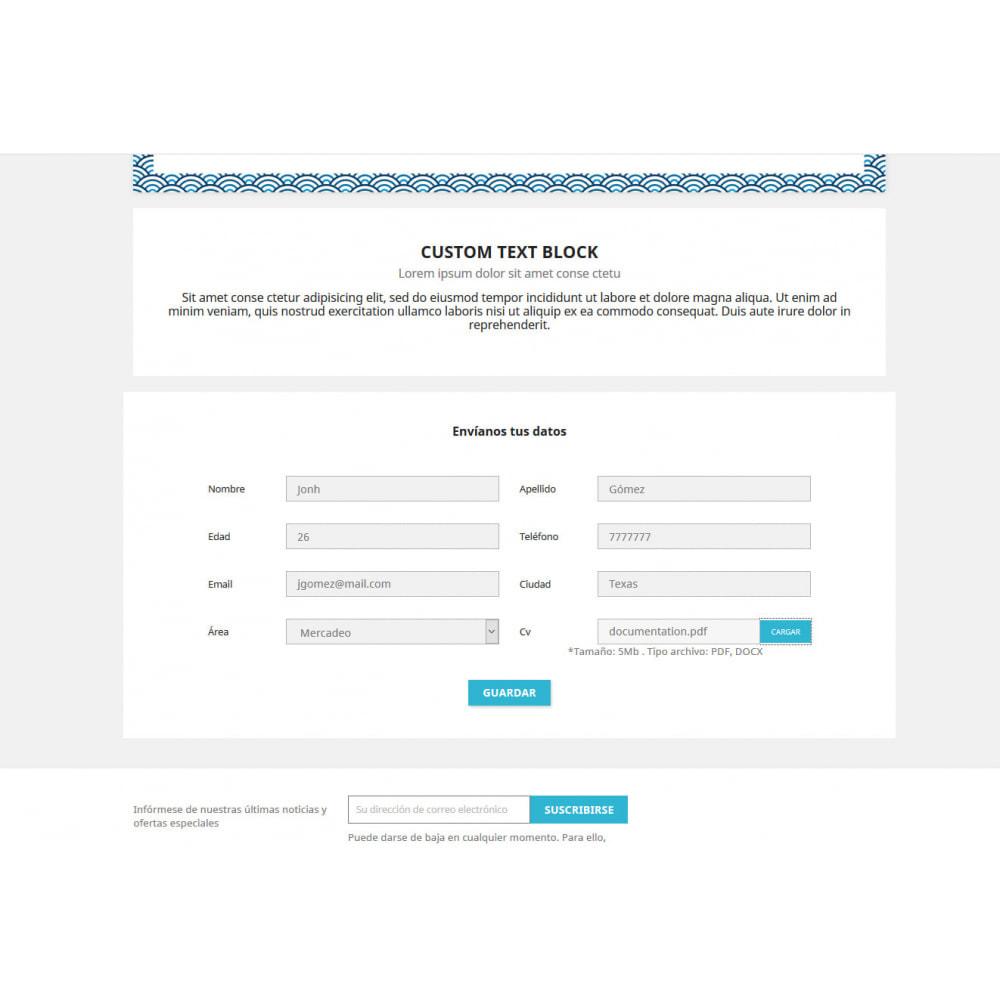 module - Contact Forms & Surveys - Contact Form CV - 2