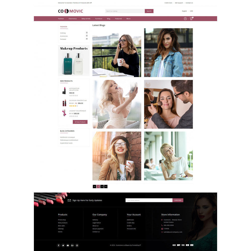 theme - Salute & Bellezza - Cosmovic - Beauty Store - 9