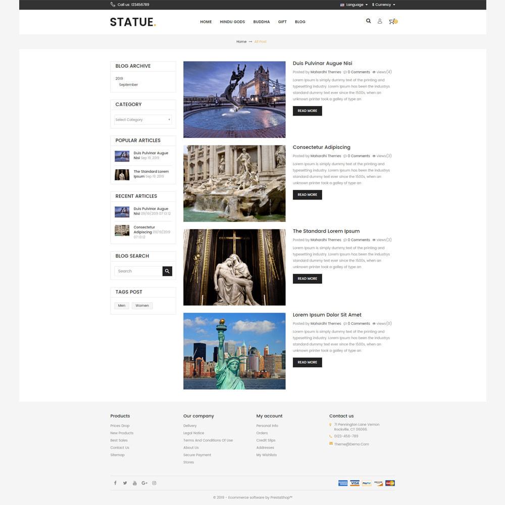 theme - Art & Culture - Statue - Responsive Store - 5