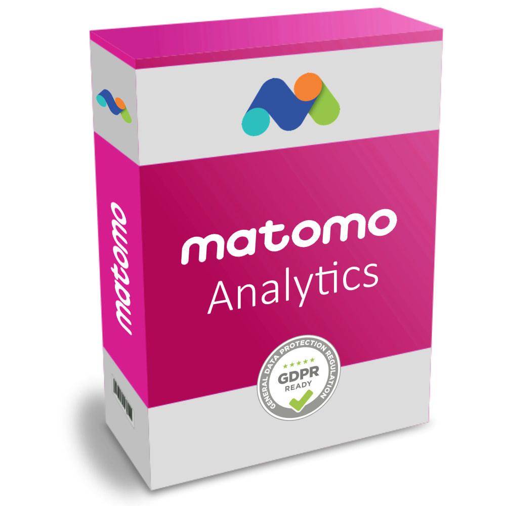 module - Analizy & Statystyki - Matomo Analytics Pro - GDPR Compliant - 1
