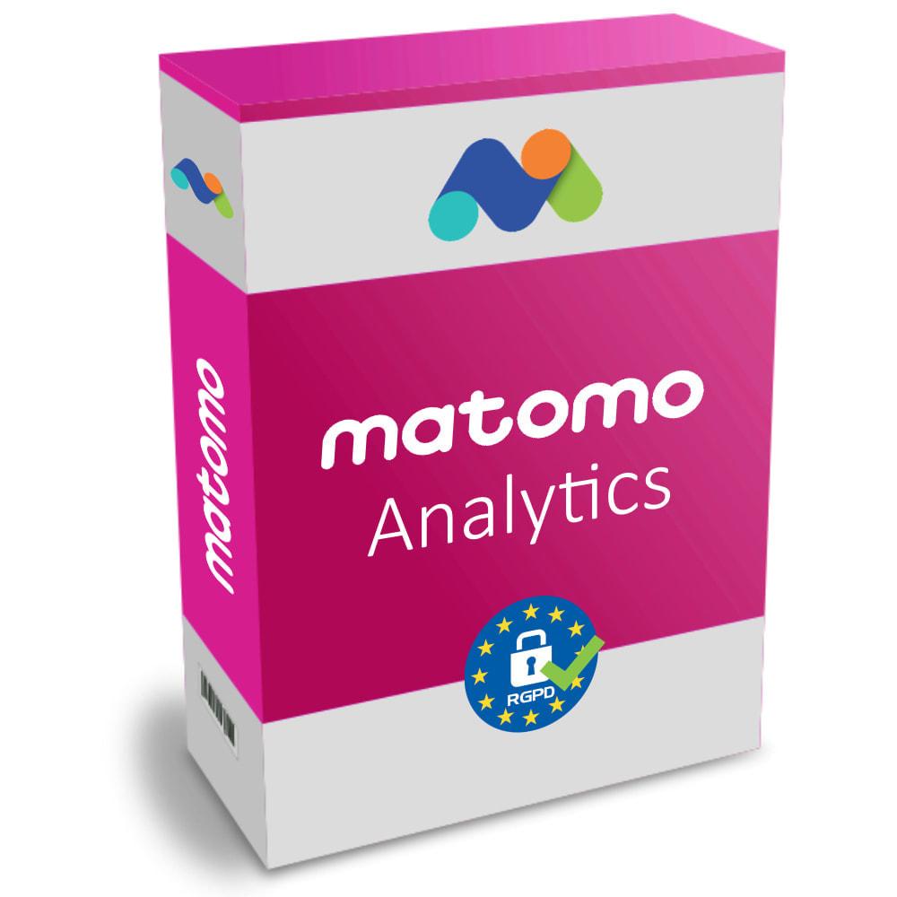 module - Analyses & Statistiques - Matomo Analytics Pro - Conforme RGPD - 1