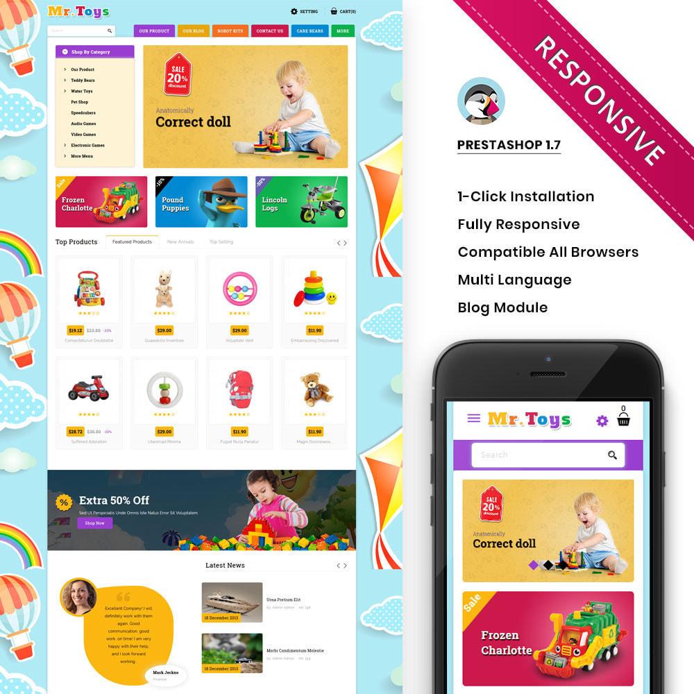 theme - Enfants & Jouets - Mr Toys - Le magasin de jouets - 1