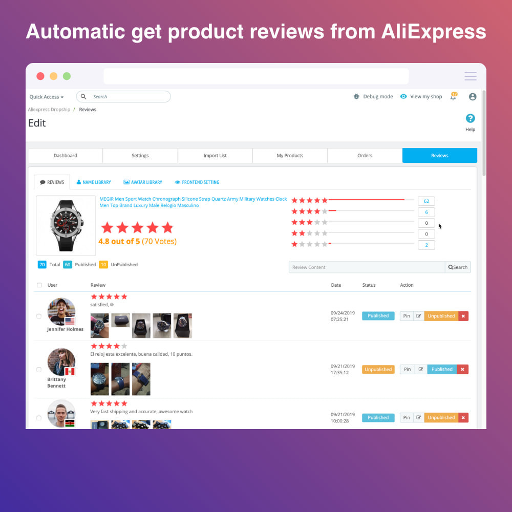 module - Dropshipping - AliExpress Dropshipping PRO - All in One - 5