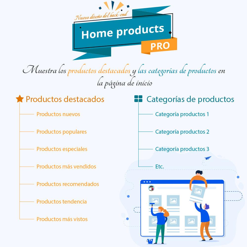 module - Productos en la página de inicio - Home Products PRO-Lista de producto personalizable - 1