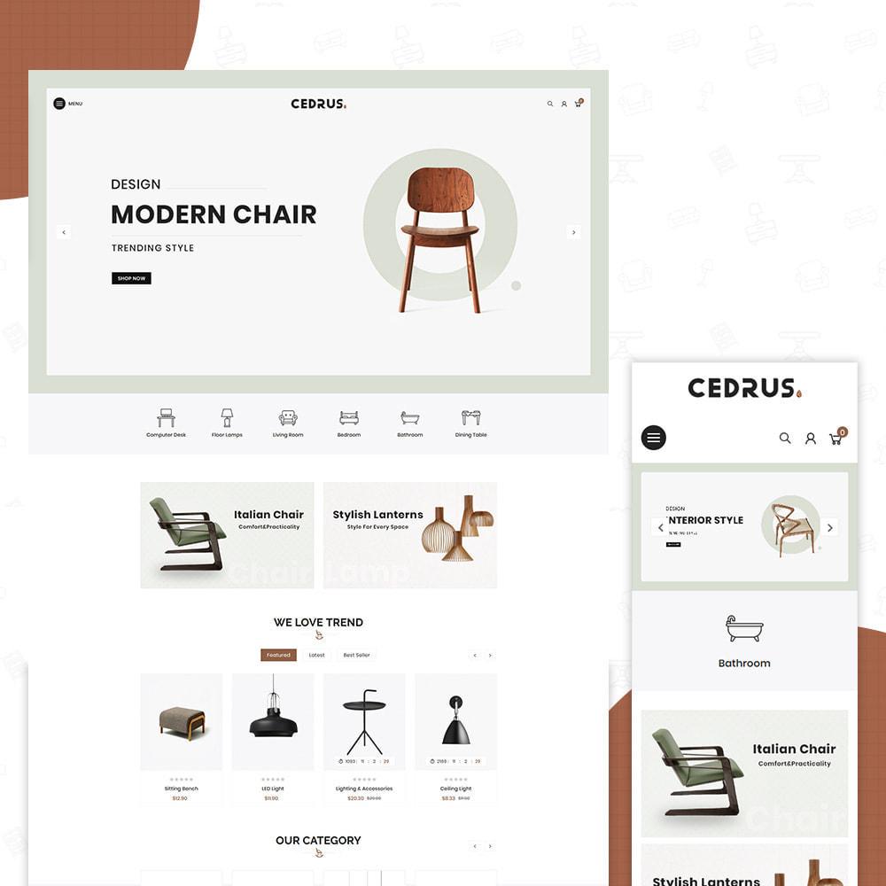 theme - Hogar y Jardín - Digital Furniture- Cedrus Furniture Store - 1